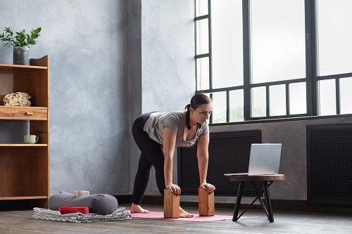 un studio de yoga de qualité